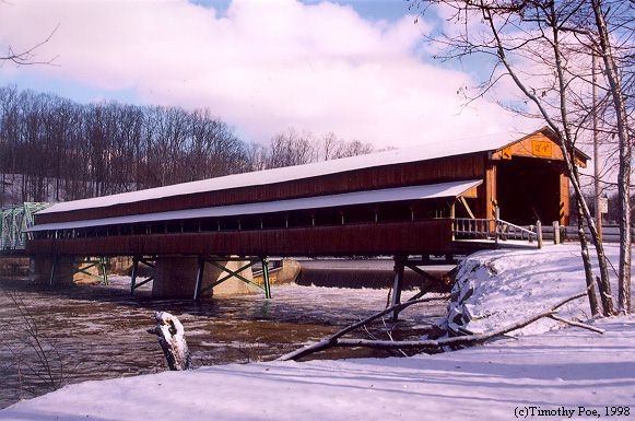 Hapersfield covered bridge